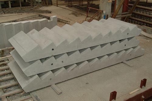Лестничные площадки жби размеры размер опор железобетонная